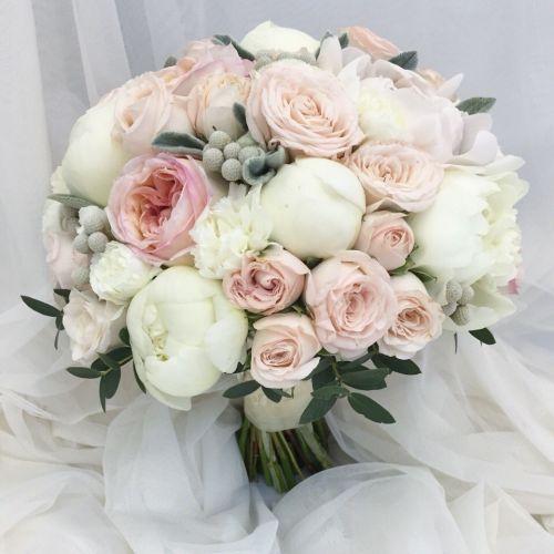 Букеты свадебный цветов фото